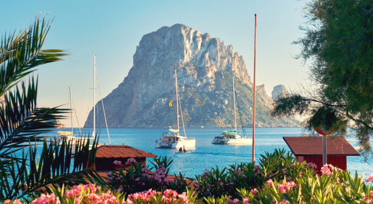 Es Vedra. Ibiza Island, Balearic Islands. Spain