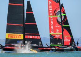 Luna Rossa Prada Pirelli, Emirates Team New Zealand