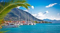Nydri harbour at Lefkada island, Greece - depositphotos.com